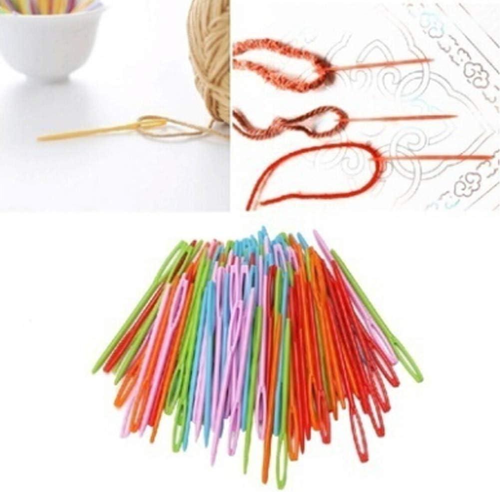 PLASTICA aghi per cucire 7cm aghi per cucire Cross Stitch bambini aghi