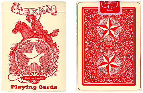 MMS Texan Playing Cards Deck 1889 (Limited Quantity) by U.S. Playing Card Company ()