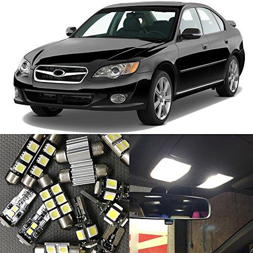 Subaru Legacy Interior (NSLUMO 12pcs Car LED Interior Light Bulbs kits For 2000-2009 Subaru Legacy Map Dome Trunk License Plate Lamp 12V OEM Replacement bulb (2000-2009 Subaru Legacy))