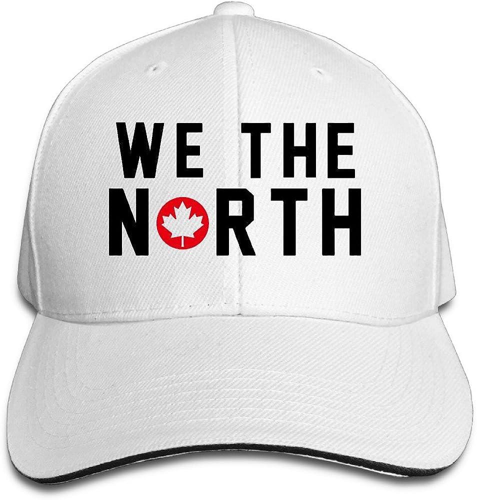 8 Colors Toronto Raptors Basketball WE THE NORTH Maple Leaf Sandwich Baseball Hats For Men Women White