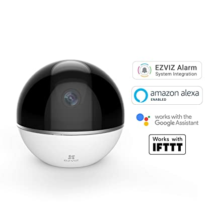 Ezviz Full HD 1080p Wi-Fi Indoor Smart Home Security Camera, With Motion  Tracking and Pan/Tilt, Works with Alexa and Google Assistant (UK Plug)