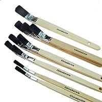 Rotix Platt Pincel curvada | 10unidades) | 10–15–20–25–30mm