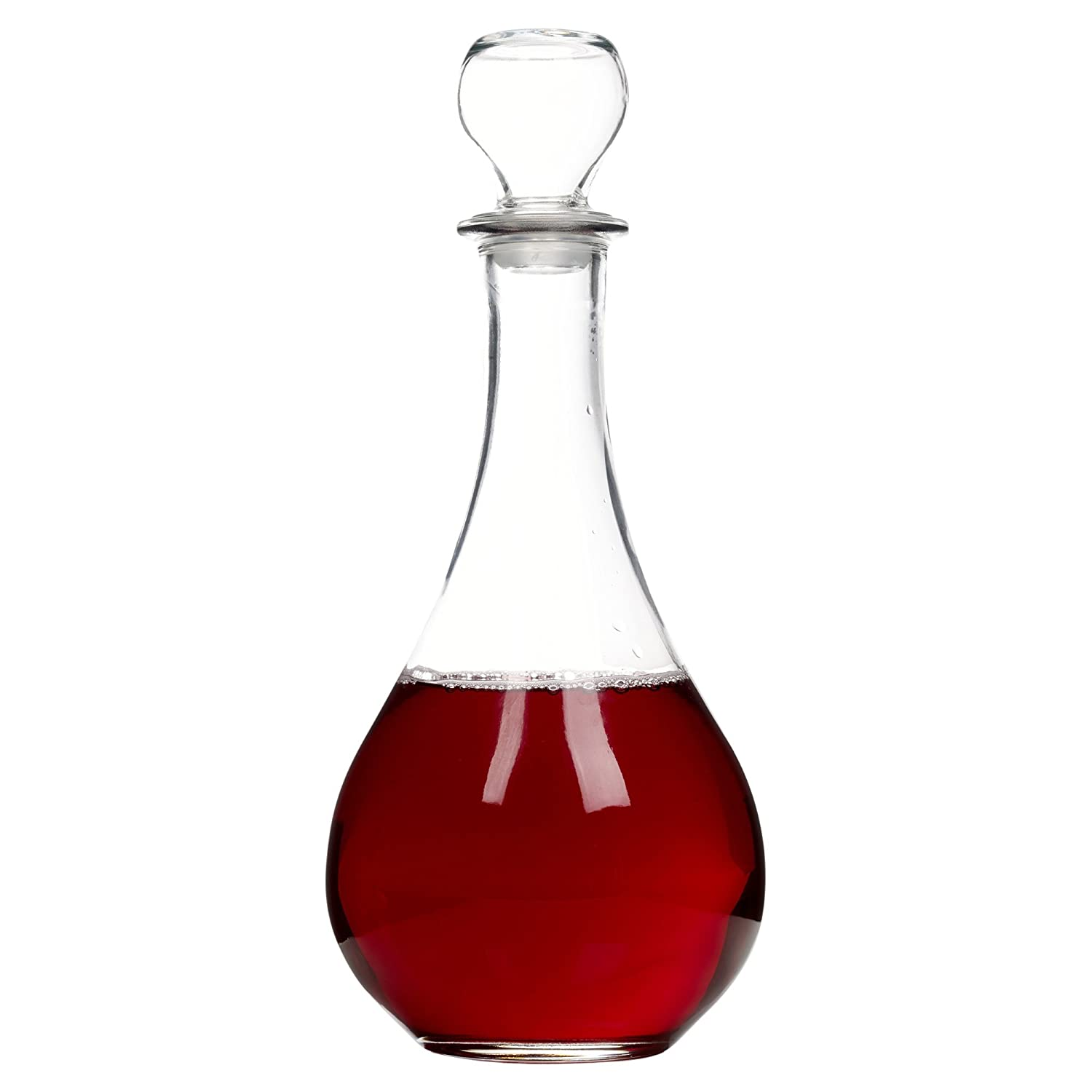 Bormioli Rocco Loto Glass Decanter for Wine Brandy Sherry Liqueur Alcohol Whisky UKASNHKTN7258