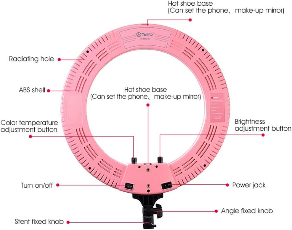 18//45CM Photographic Lighting Ring Light for YouTube Camera Photo HULYZLB LED Ring Light432 LED Dimmable Beauty Ring Light