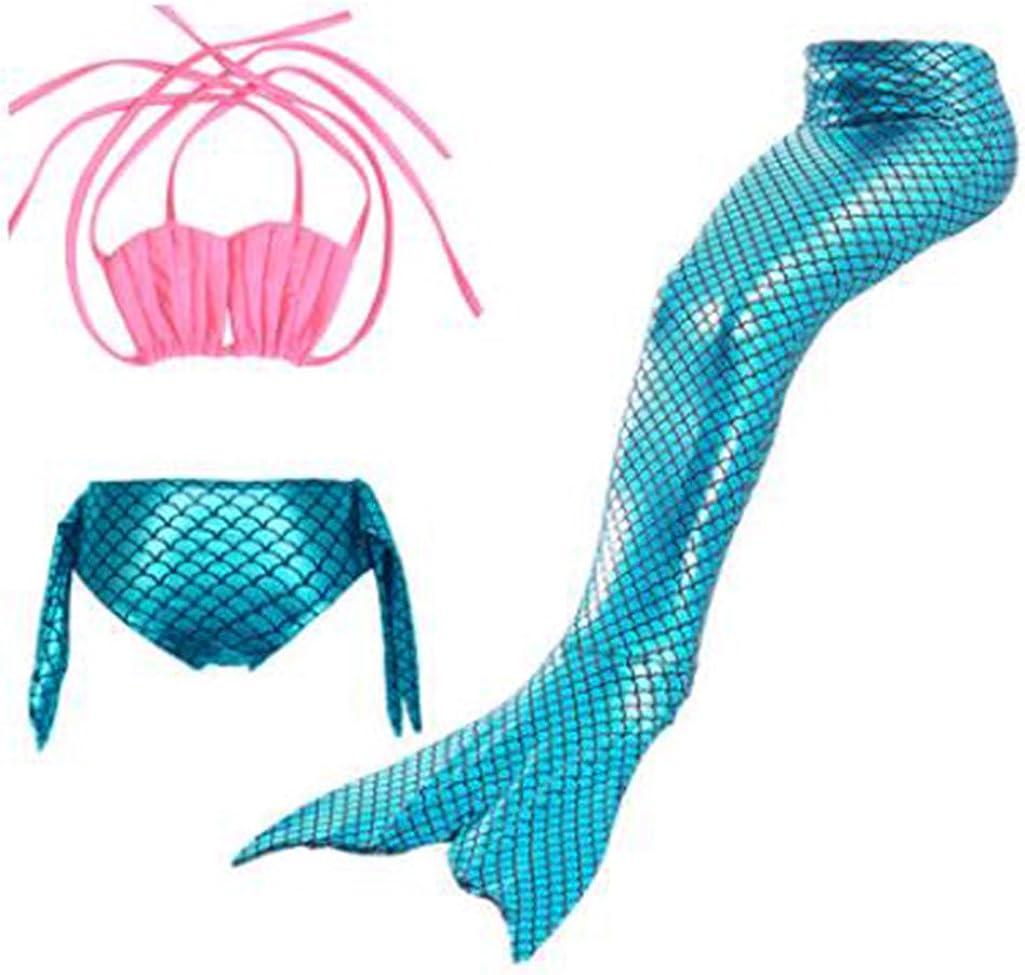 Marolaya Mermaid Girls Swimsuit Mermaid Tail Kids Swimsuit