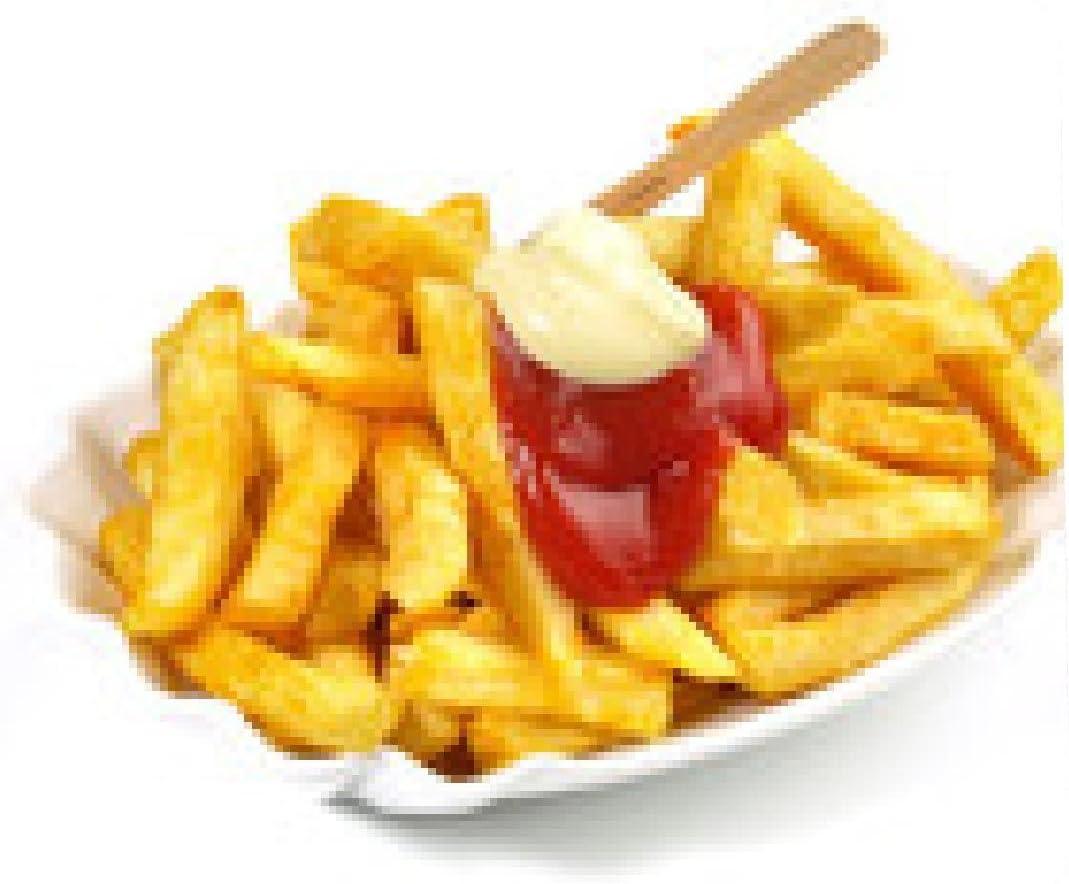 alfombrilla de ratón Patatas fritas con la salsa de tomate y ...
