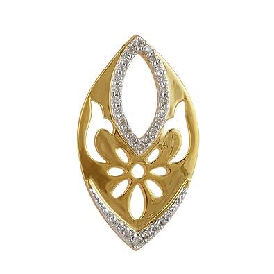 Senco Gold 14KT Diamond Pendant for Women Women