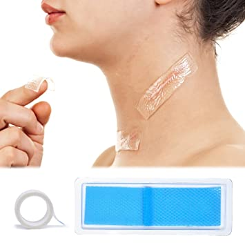 Amazon Com Silicone Scar Sheet Treatment Scar Tape Gel Away Strips