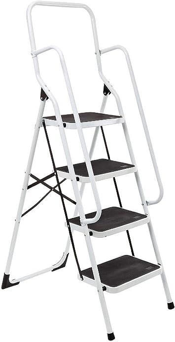 Bergman- Escalera de seguridad de 4 escalones.: Amazon.es: Bricolaje y herramientas