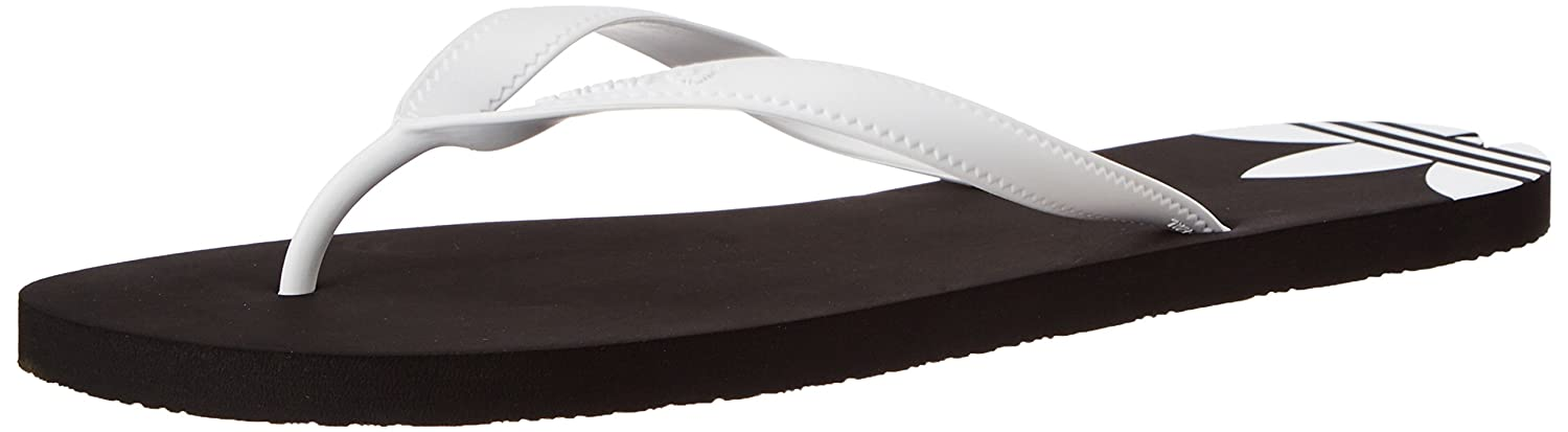 f30845cce adidas Originals Men s Adi Sun Black and White Flip-Flops and House Slippers  - 11 UK  Buy Online at Low Prices in India - Amazon.in