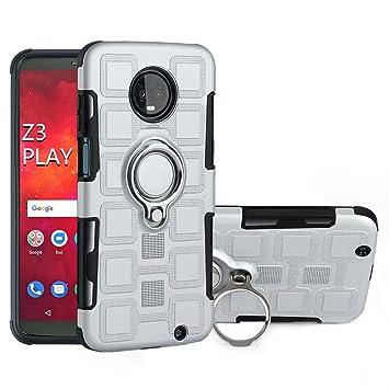 FeiNianJSh para Motorola Moto Z3 Play (6.0 Pulgadas) Armadura Personalizada Dual Layer 2 en