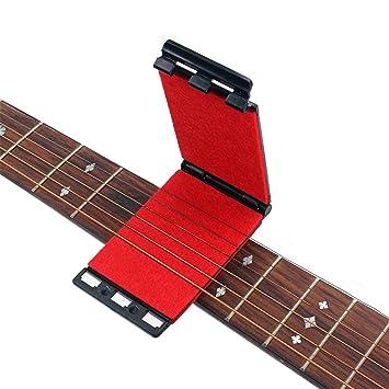 Artibetter - Limpiador de cuerdas y diapasones para guitarras eléctricas y acústicas, color rojo: Amazon.es: Instrumentos musicales