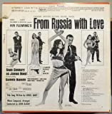 John Barry Soundtrack From Russia With Love 007 vinyl record