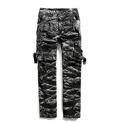 Amazon Com Bebone Men Loose Camo Cargo Pants Clothing