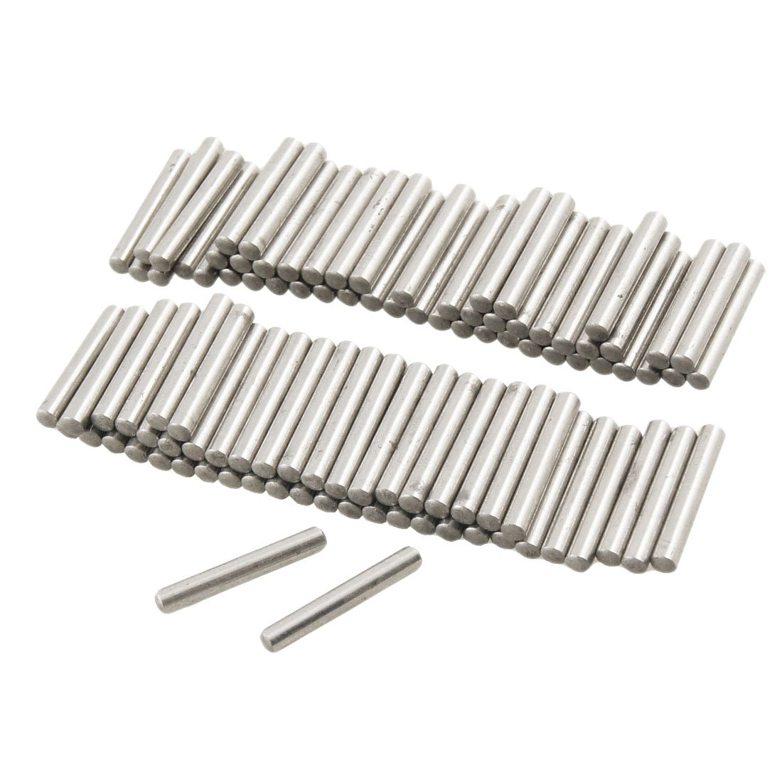 100 Pcs Stainless Steel 2.6mm x 15.8mm Dowel Pins Fasten Elements Sourcingmap TRTAXCEEGF3565