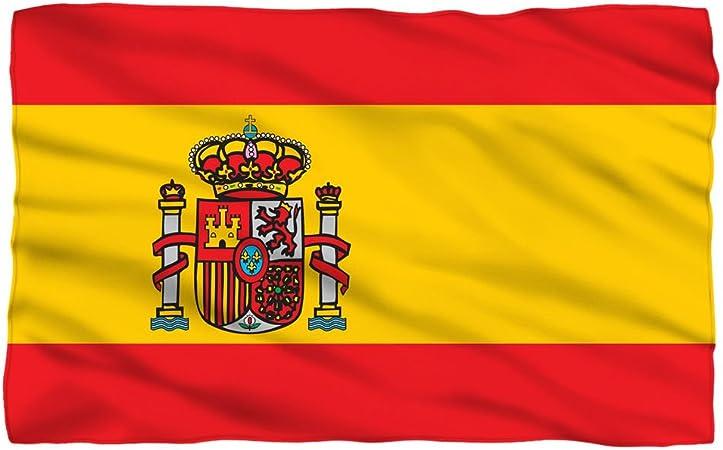 Bandera de España – -manta de forro polar: Amazon.es: Hogar