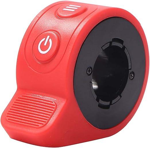 Demiawaking Acceleratore per Scooter Elettrico per HX X7 Interruttore Regolatore di velocità Acceleratore Monopattino Elettrico