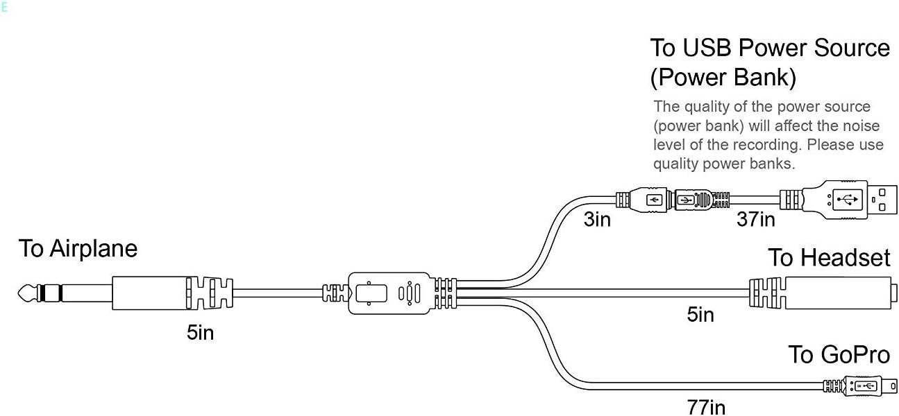 Airplane Cockpit Intercom ATC - Cable de grabación de Radio con ...