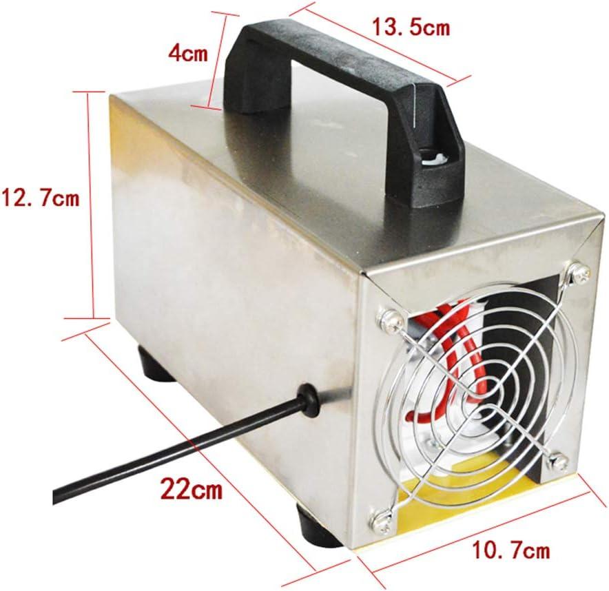 WWK Generatore dellozono 24G Sterilizzazione Oltre alla formaldeide Facile da Usare Professionali Fai da Te Purificante chimici Gas Indoor Air Purifier 220V
