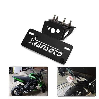 Motorsports Fender Eliminator Kit Compatible For Kawasaki Z125 Z 125 2015 2016 2020 2020 (BLACK): Automotive