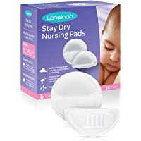 Lansinoh Absorvente Descartáveis Para Seios Stay Dry, Branco, 36 unidades