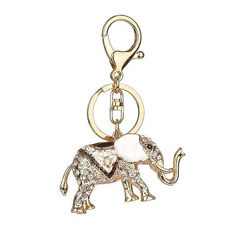 Love May Llavero Elefante Keychain aleación Bolso Colgante ...