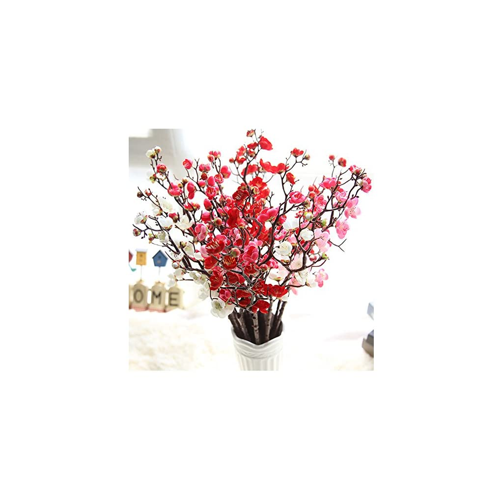 1Pcs-24Inch-Cherry-Blossoms-Silk-Flowers-Cherry-Blossoms-Artificial-Flowers-Artificial-Spring-Blossom-Cherry-Plum-Bouquet-Branch-Silk-Flower-Artificial-Flower-for-Home-Decor-Indoor