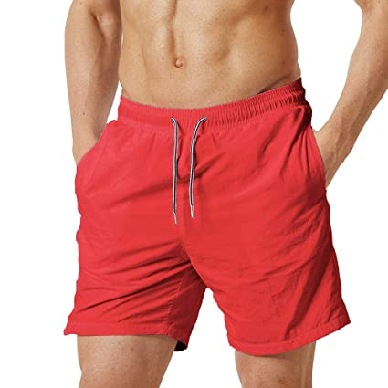 bccfcde2f05 Image Unavailable. Image not available for. Color: Men's Black Beach  Shorts, Male Fashion ...