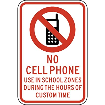 no cell phone in office
