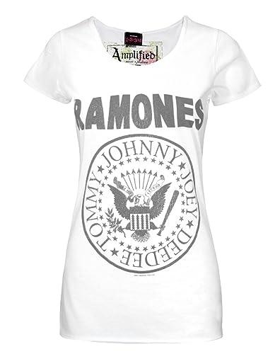 Mujeres – Amplified Clothing – Ramones – Camiseta