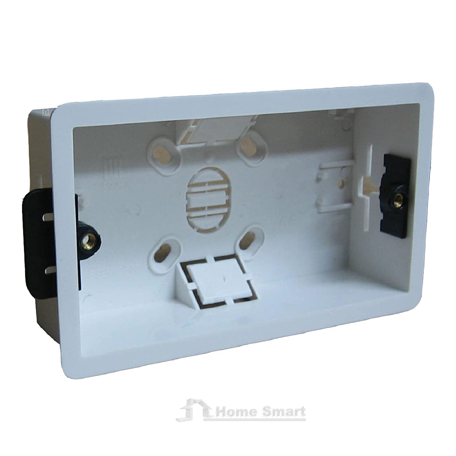 Dry Lining Back Box Flush Wall Pattress Double 2 Gang Electrical ...
