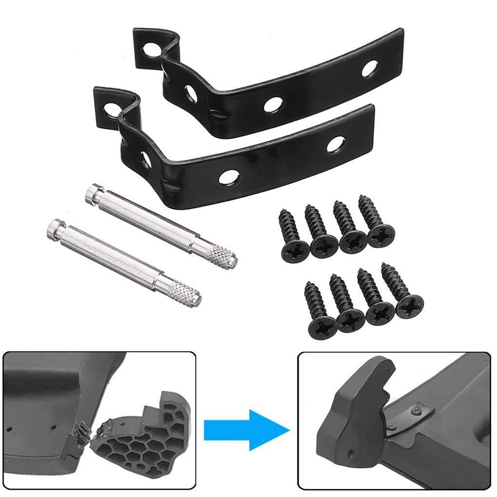 heacker Glove-Box Deckelscharnier Reparatursatz Kompatibel f/ür Audi A4 S4 RS4 B7 B6 8E 8E2857131 8E2857035 8E0880802 8E2880324