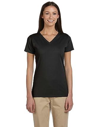 039a6bca1631 econscious Women's Organic Cotton V-Neck T-Shirt at Amazon Women's Clothing  store: