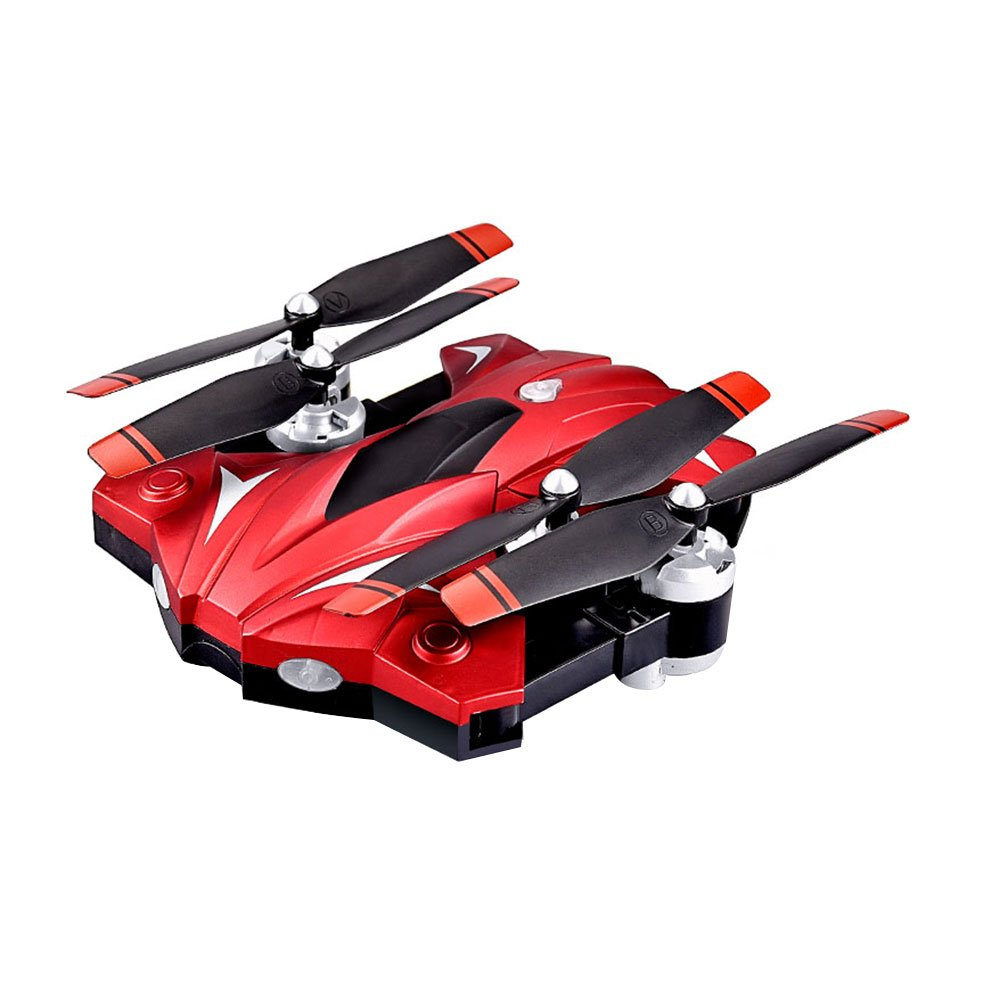 Hanbaili (ROT) RC Quadcopter,2.4G 4CH Transmitter and 6-Axis GyroWide-Angle 720P HD Wifi Camera- Follow Me