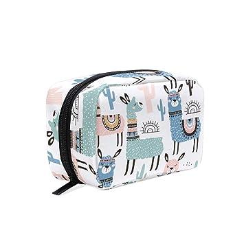 08688f30f143 TFONE Cute Animal Alpaca Llama Cosmetic Bag ... - Amazon.com