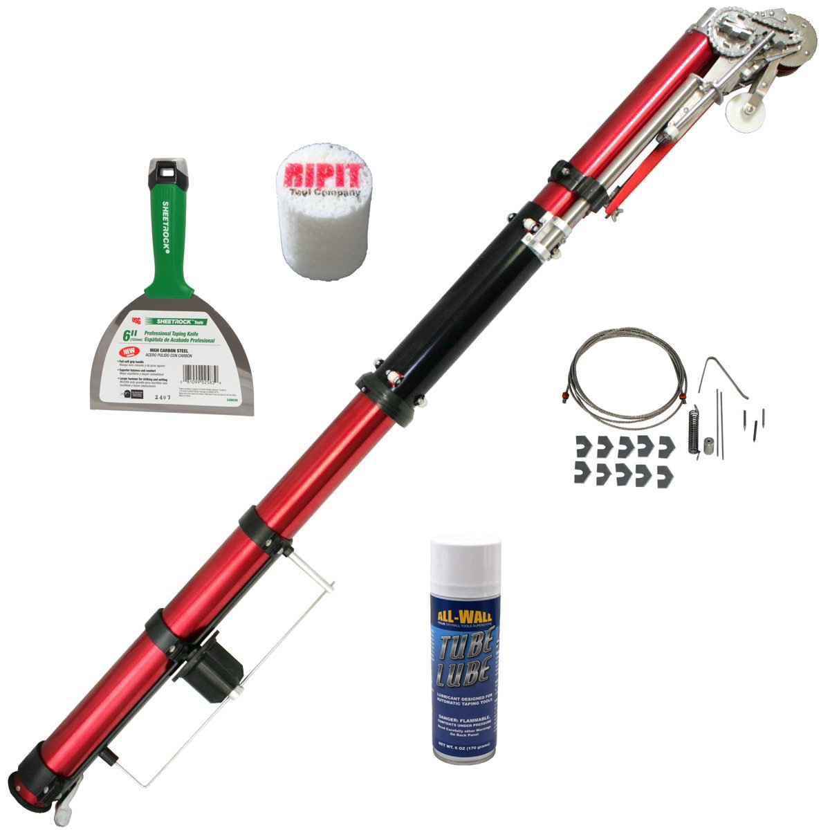 Level5 Automatic Taping Tool with FREE Accessory Kit and Joint Knife