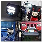 AUDEW Spot Led Driving Lights Led Light Bar 2PCS