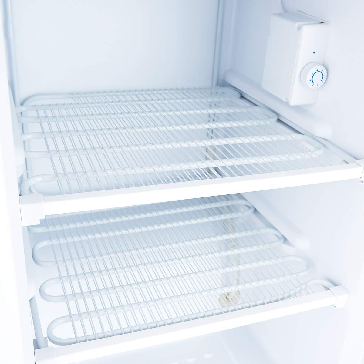 COSTWAY Compact Single Door Upright Freezer - Mini Size with Stainless Steel Door - 3.0 CU FT Capacity - Adjustable by COSTWAY (Image #7)