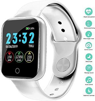 linyingdian Smartwatch, Reloj Inteligente Impermeable IP67 Pulsera ...