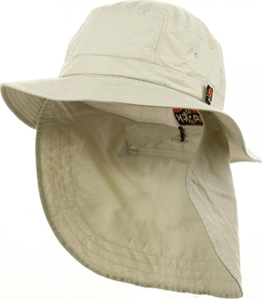 c76e4c2a7 Amazon.com: Adams Extreme Vacationer Bucket Cap (Stone) (XL): Clothing