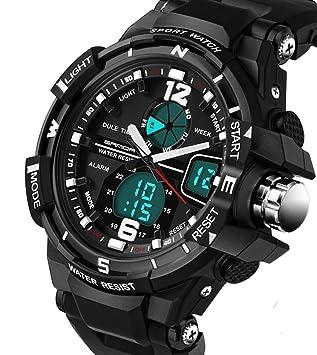 amazon com 2016 new brand sanda fashion watch men g style 2016 new brand sanda fashion watch men g style waterproof sports military watches shock men s luxury