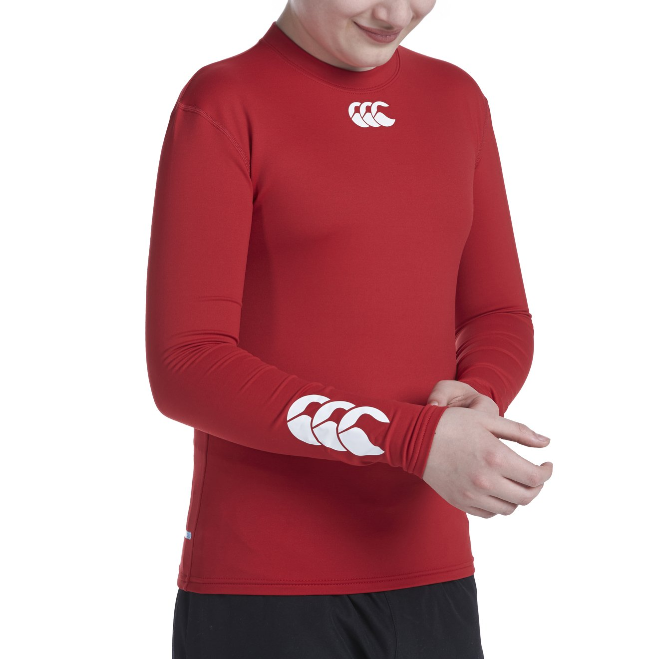 Rosso Junior S Canterbury Base Layer Manica Lunga Junior