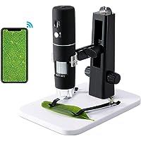 ROTEK Digitale Microscoop, WiFi USB Microscoopcamera 1000x zoom 1080P HD met Professionele Liftstandaard, Cadeau voor…