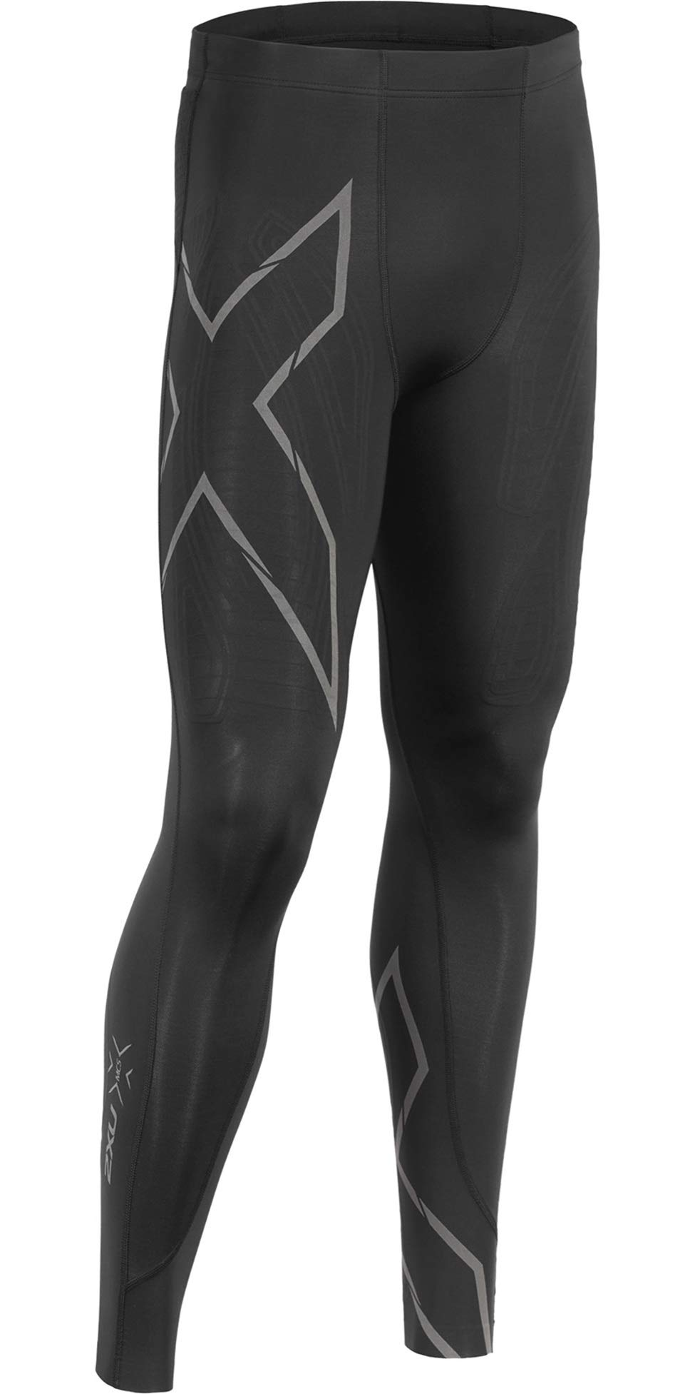 2XU MCS Run Compression Tight, Black/Black Reflective, Medium by 2XU (Image #1)