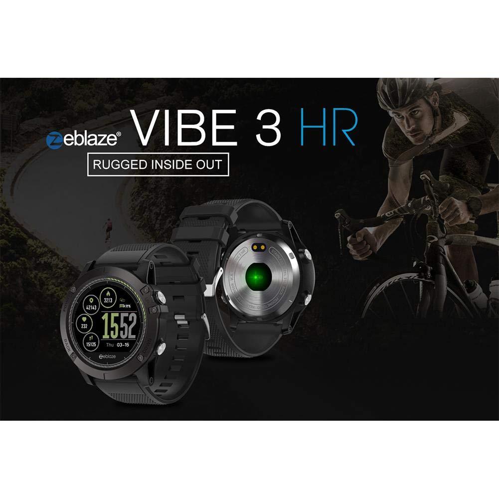 S-tubit Zeblaze Vibe 3 HR Smartwatch 3D UI Registro de Actividad ...