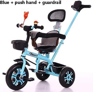 Triciclos Bebes 1-6 Año, Triciclo Plegable Bicicletas Estaticas BH ...