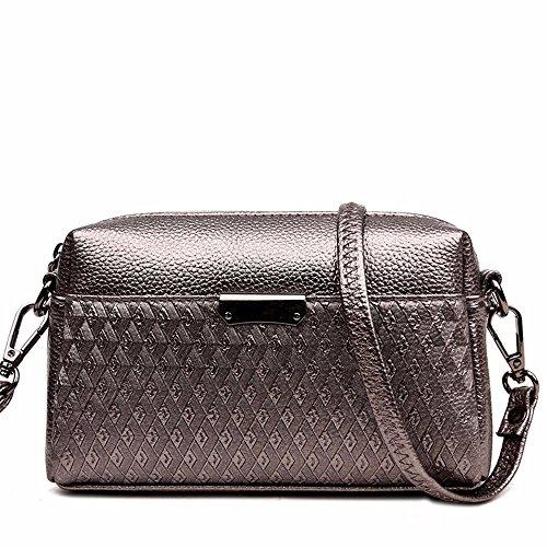 13 Couleur summer Le pochette sac de 20 sac 7 nouveau petites style de groupe mobile black coursier Bronze sac cm femmes sac fqZSfgwx1