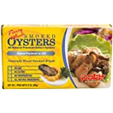 MW Polar Fancy Whole Smoked Oysters, 3 Ounce (Pack of 18)