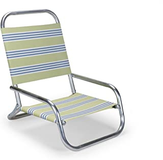 product image for Telescope Casual Sun and Sand Folding Beach Chair, Limelight - 73353501