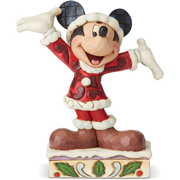 Enesco Jim Shore Disney Traditions Minnie in Christmas Pajamas Figurine FBA/_4057936